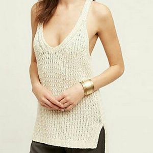 Anthro Moth Sunidra Sweater Tank Top